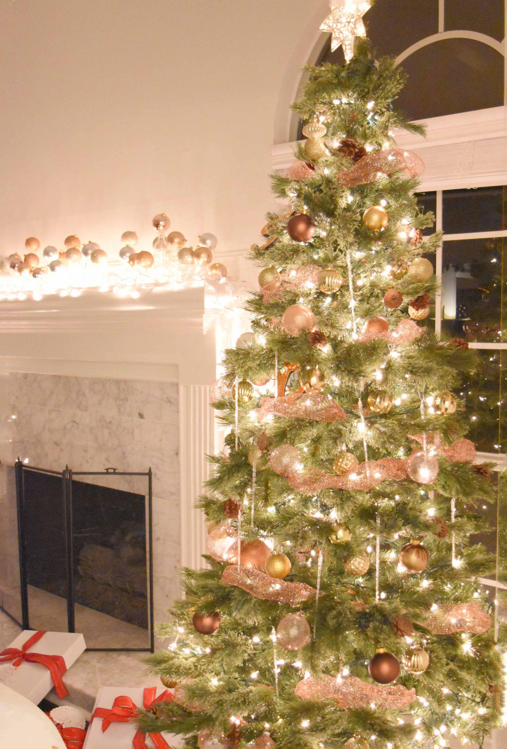 DIY Christmas Tree Garland  DIY Copper Mesh Garland For Your Christmas Tree