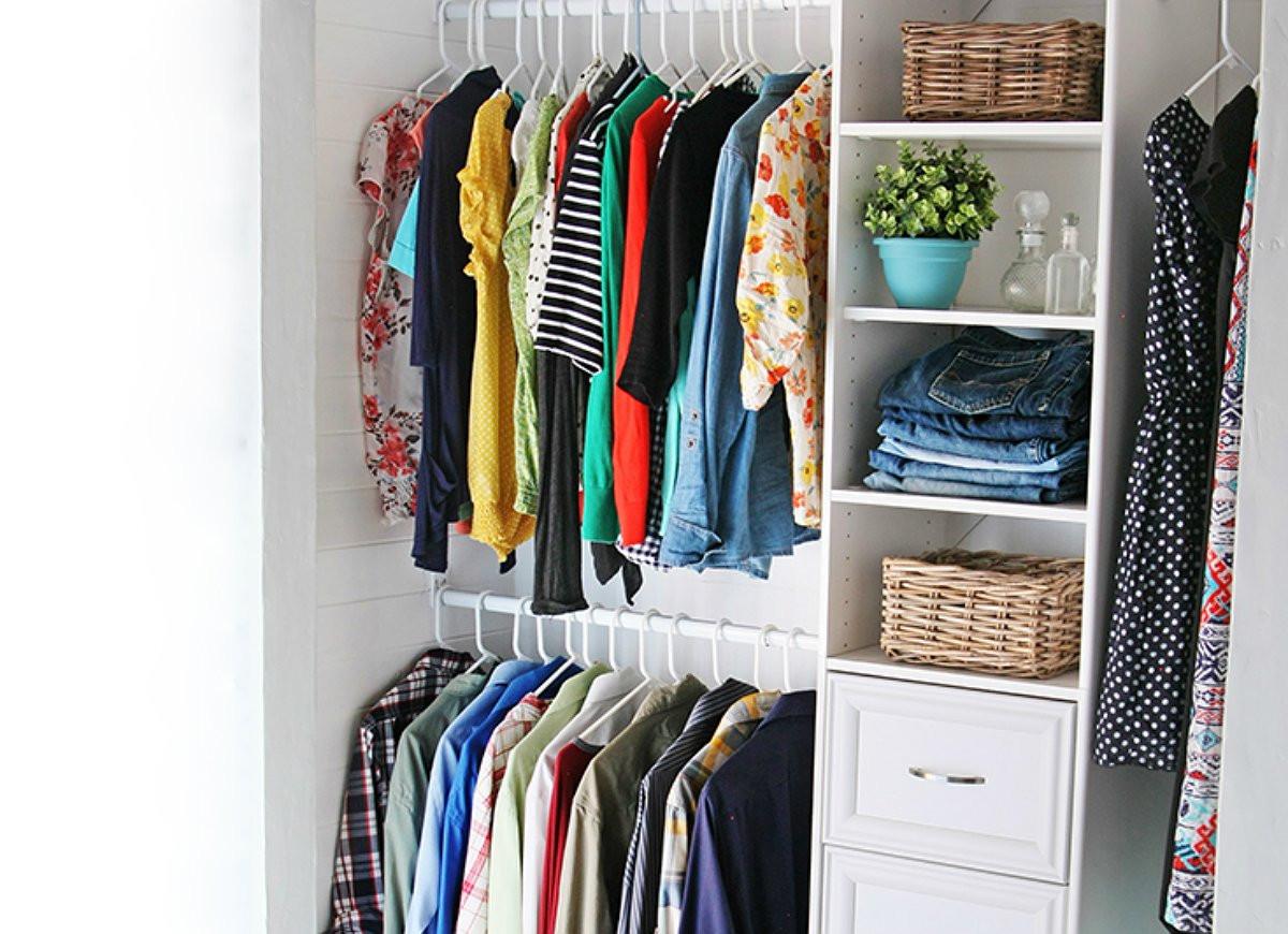 DIY Closet Organizing Ideas  Build a Custom Closet Organizer Dream Closet 21 Ways to