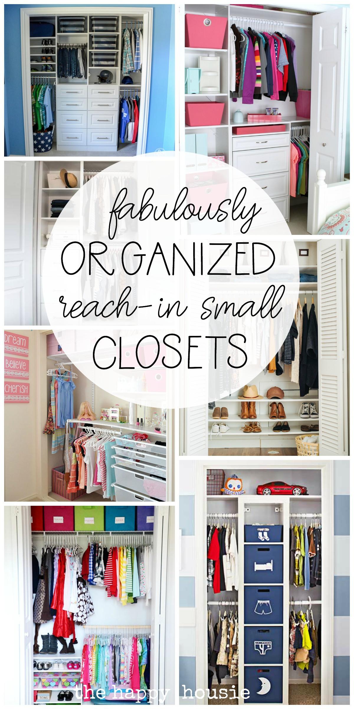 DIY Closet Organizing Ideas  Small Reach in Closet Organization Ideas