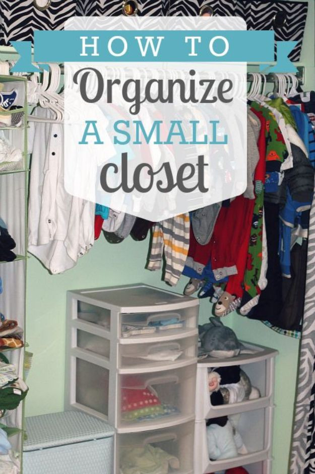 DIY Closet Organizing Ideas  15 Great DIY Closet Storage And Organization Tips & Tricks