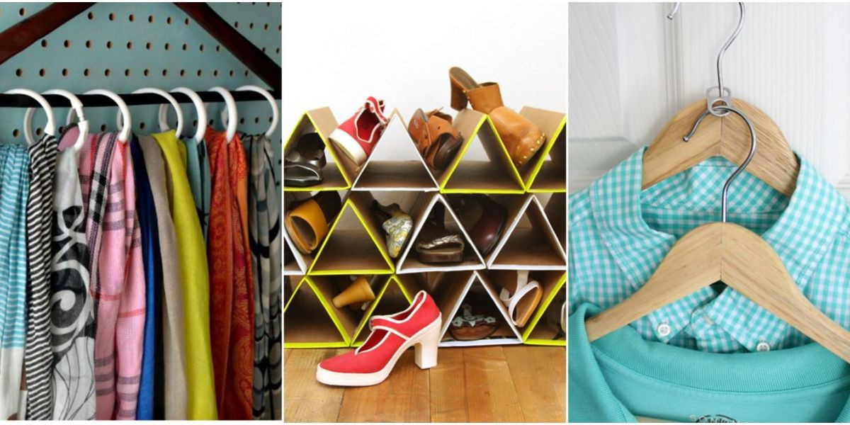 DIY Closet Organizing Ideas  30 Closet Organization Ideas Best DIY Closet Organizers