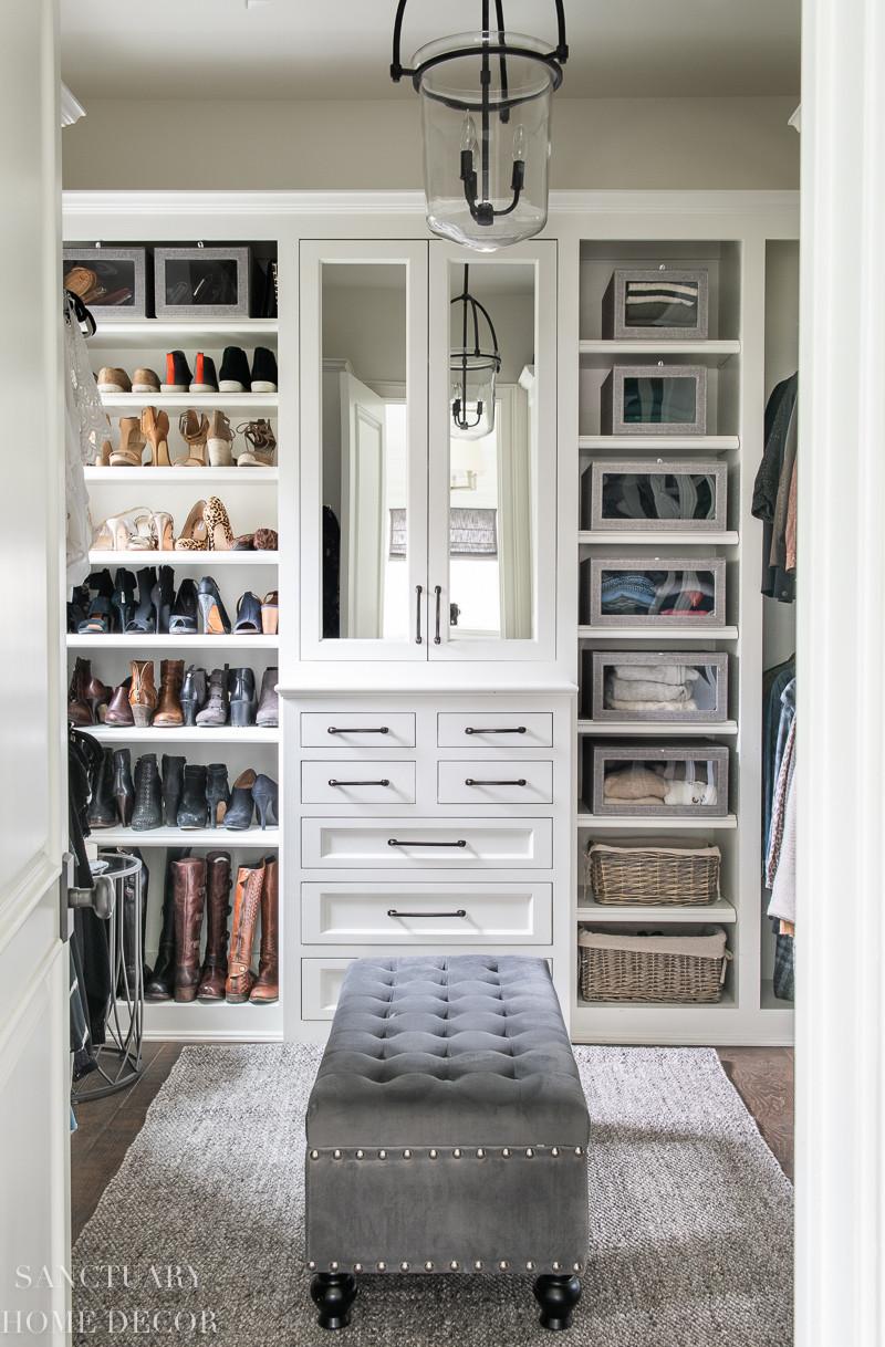 DIY Closet Organizing Ideas  Easy DIY Closet Organizing Ideas Sanctuary Home Decor