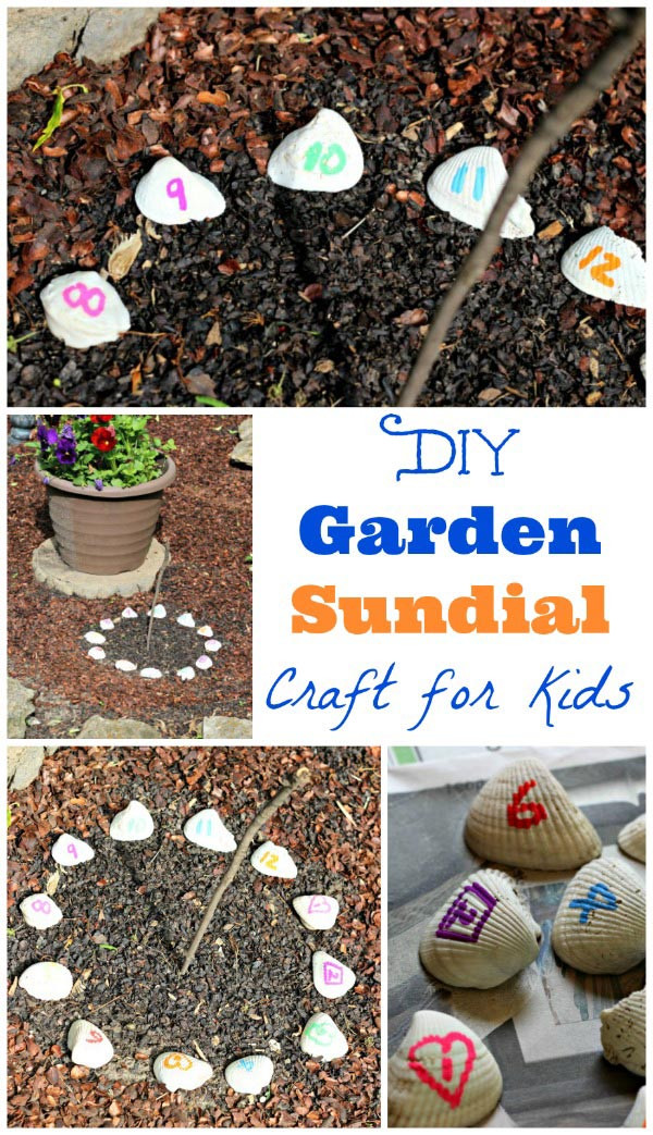 DIY Craft For Toddlers  DIY Sundial for Kids Edventures with Kids