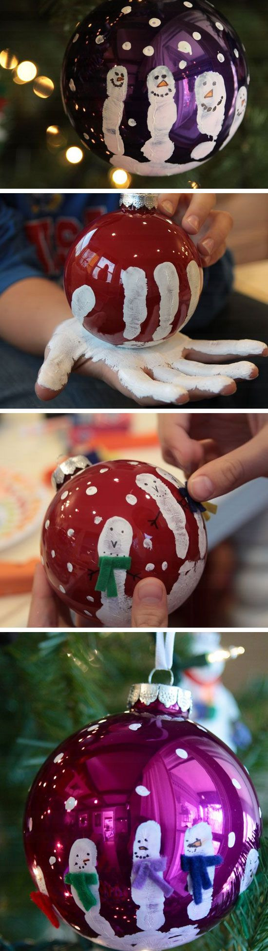 DIY Craft For Toddlers  Easy and Cute DIY Christmas Crafts for Kids to Make Hative