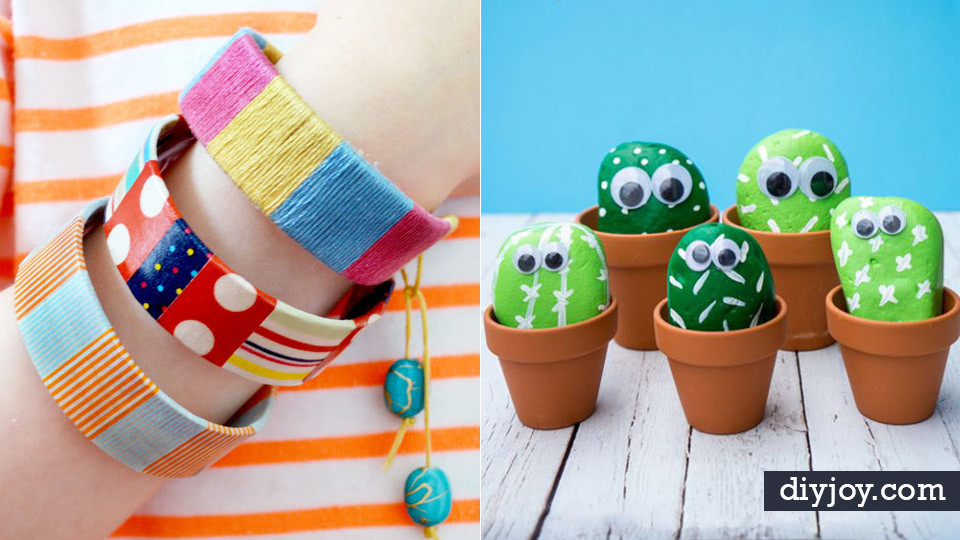 DIY Craft For Toddlers  40 Crafts and DIY Ideas for Bored Kids