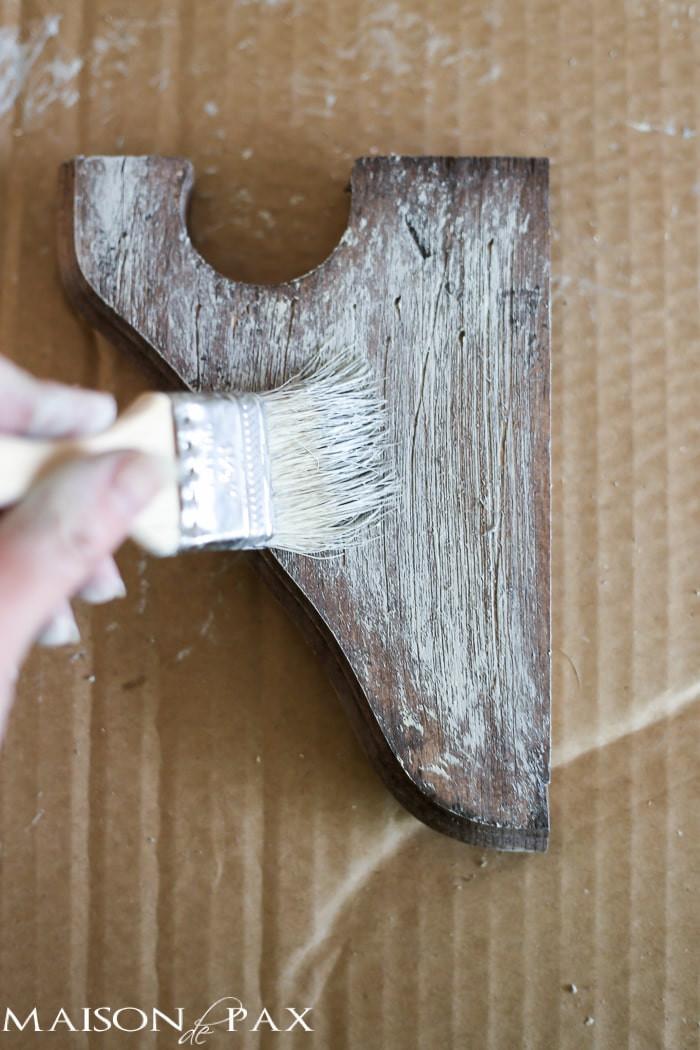 DIY Curtain Rod Brackets  DIY Curtain Rods Restoration Hardware Inspired Maison