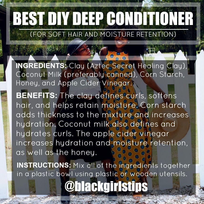 "DIY Deep Conditioner For Transitioning Hair  ""Best DIY Deep Conditioner """