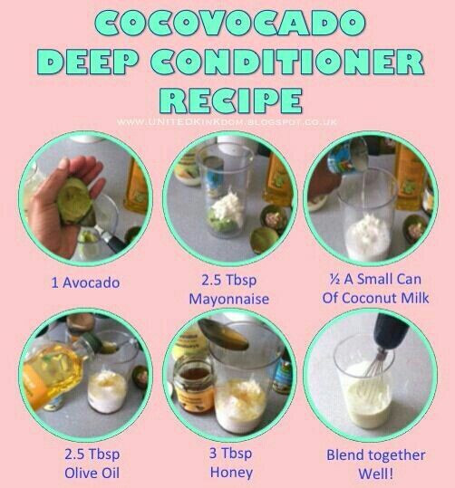 DIY Deep Conditioner For Transitioning Hair  Deep conditioner recipe