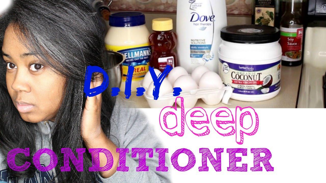 DIY Deep Conditioner For Transitioning Hair  DIY Winter Deep Conditioner