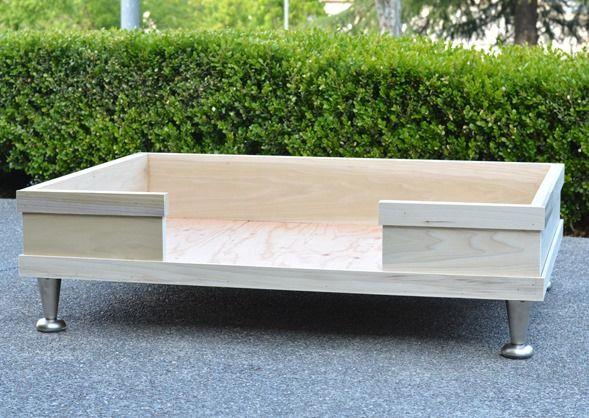 DIY Dog Bed Frame  DIY Modern Pet Bed