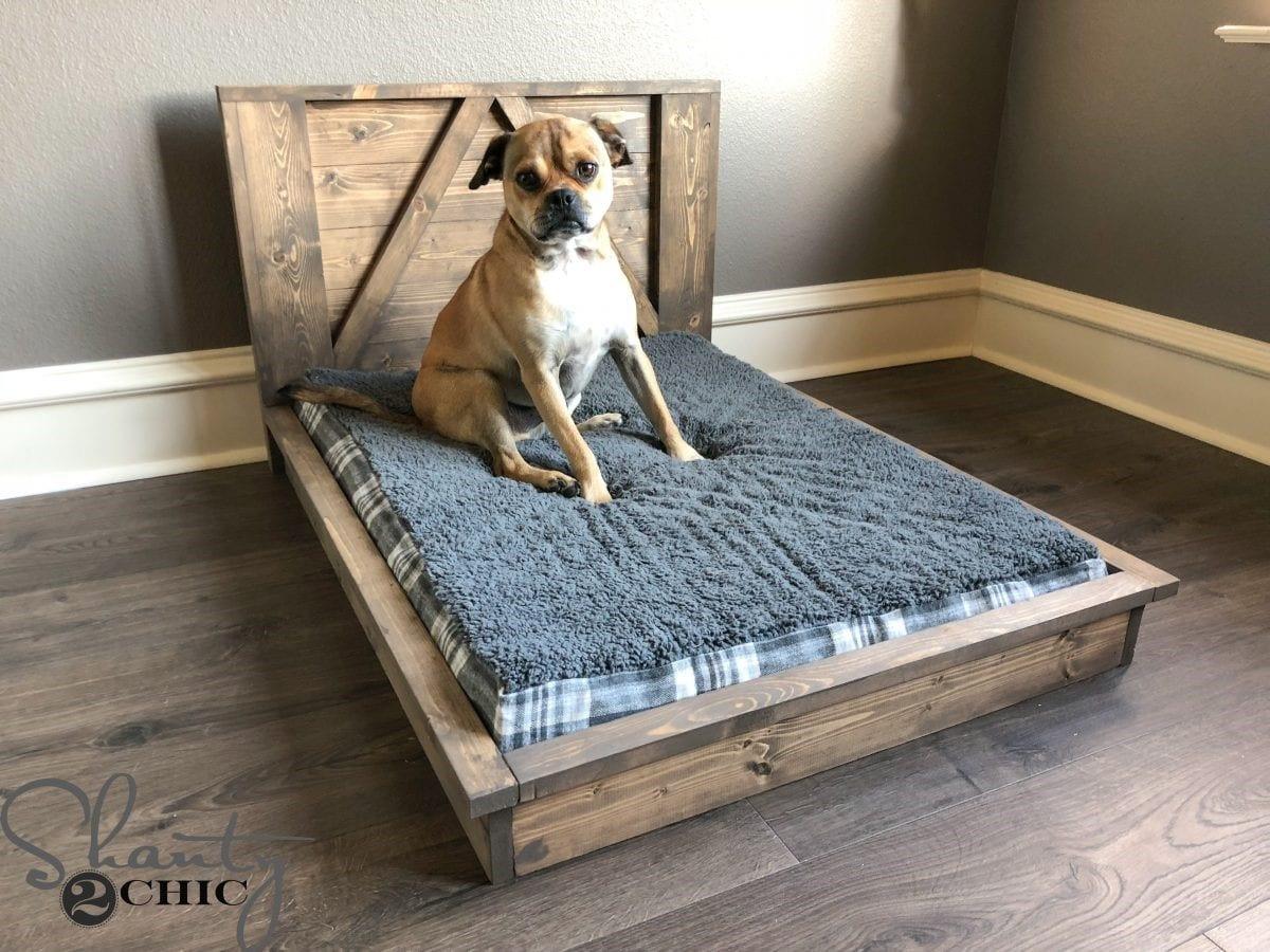 DIY Dog Bed Frame  16 Pallet Dog Bed DIY Plans – Cut The Wood