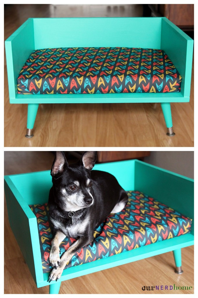 DIY Dog Bed Frame  19 Wooden Dog Beds To Create For Your Furry Four Legged