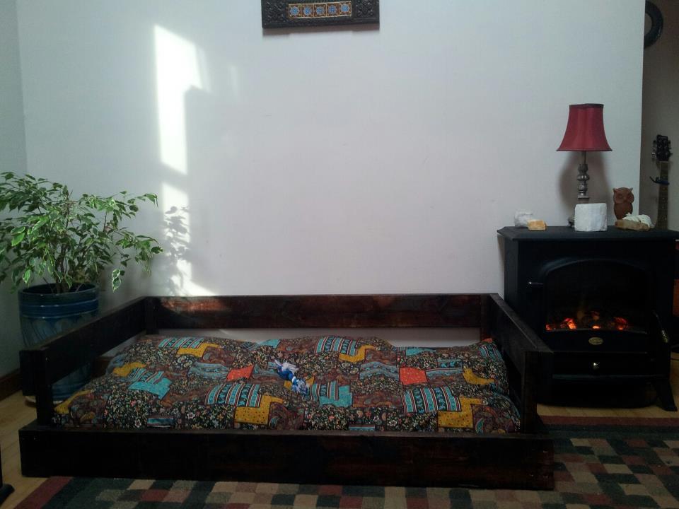DIY Dog Bed Frame  DIY Dog Bed Frame & Pillow for $50 or less
