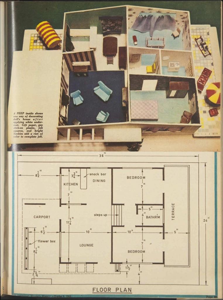 DIY Dollhouse Furniture Plans  oconnorhomesinc