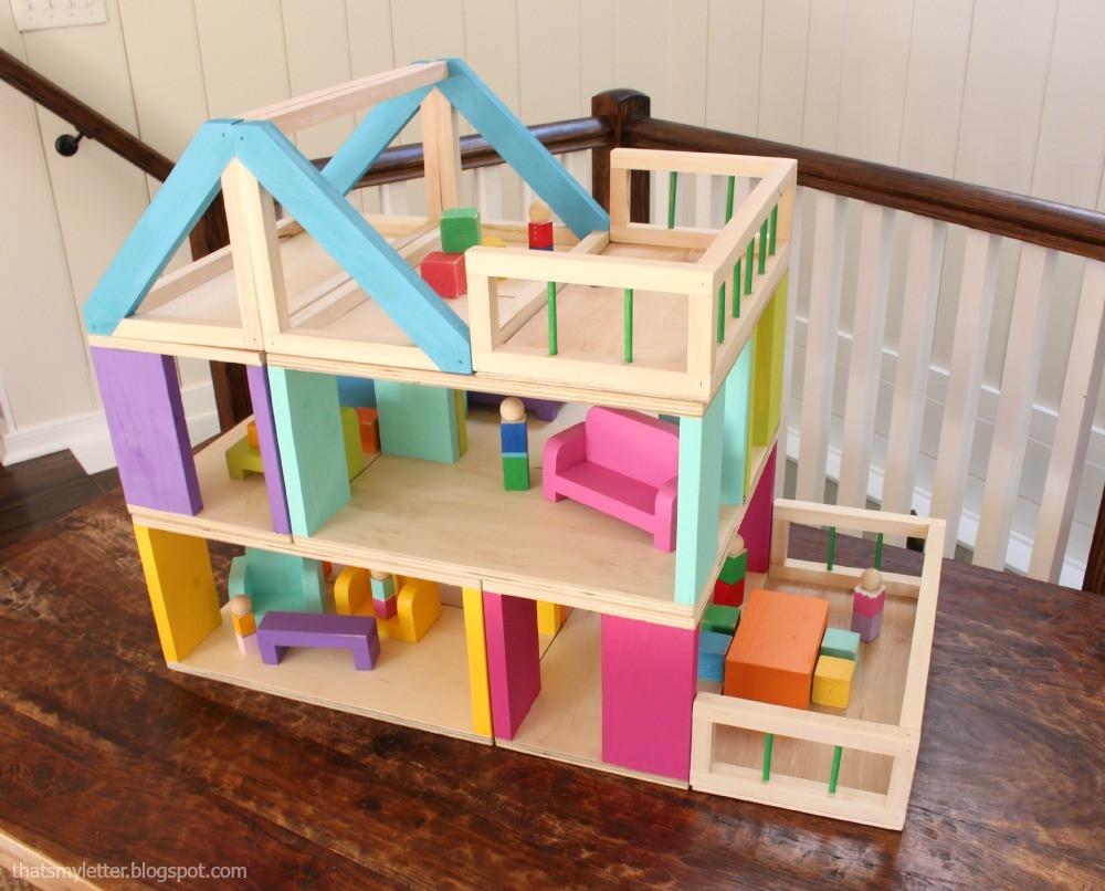 DIY Dollhouse Furniture Plans  Ana White