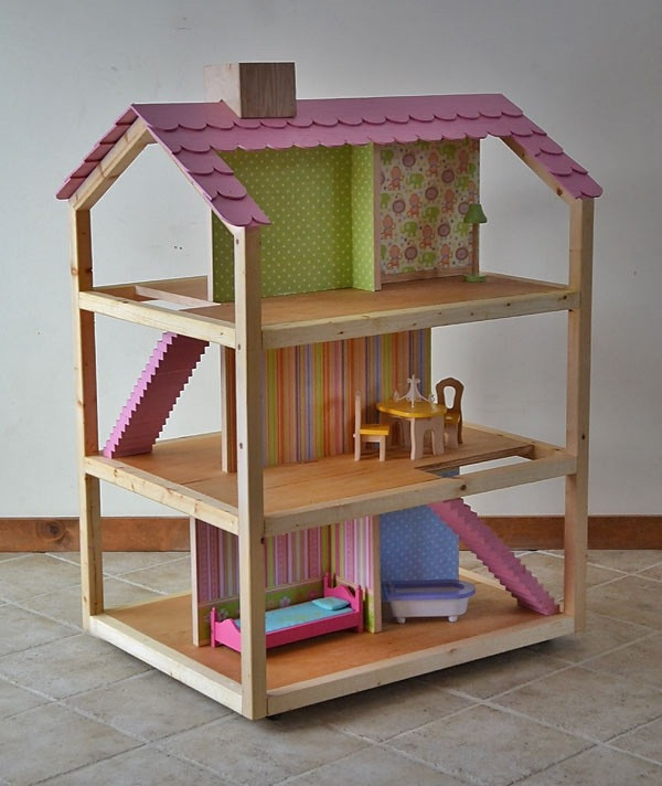 DIY Dollhouse Furniture Plans  Awesome DIY dollhouse ideas the best toy for girls ever