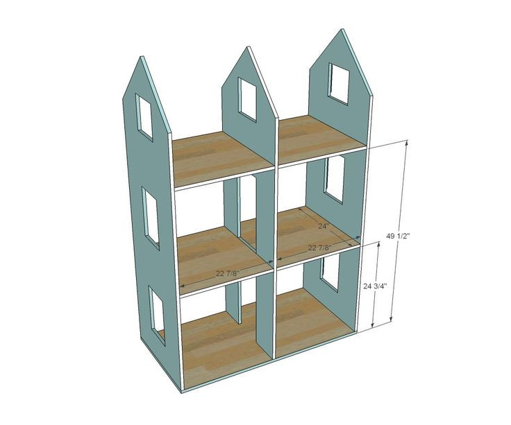 DIY Dollhouse Furniture Plans  Wood Dollhouse Plans Pattern WoodWorking Projects & Plans