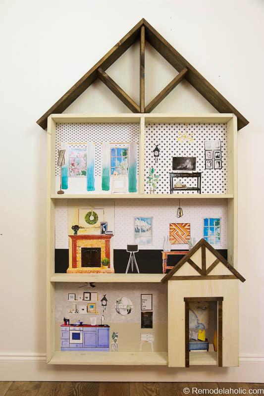 DIY Dollhouse Furniture Plans  Remodelaholic