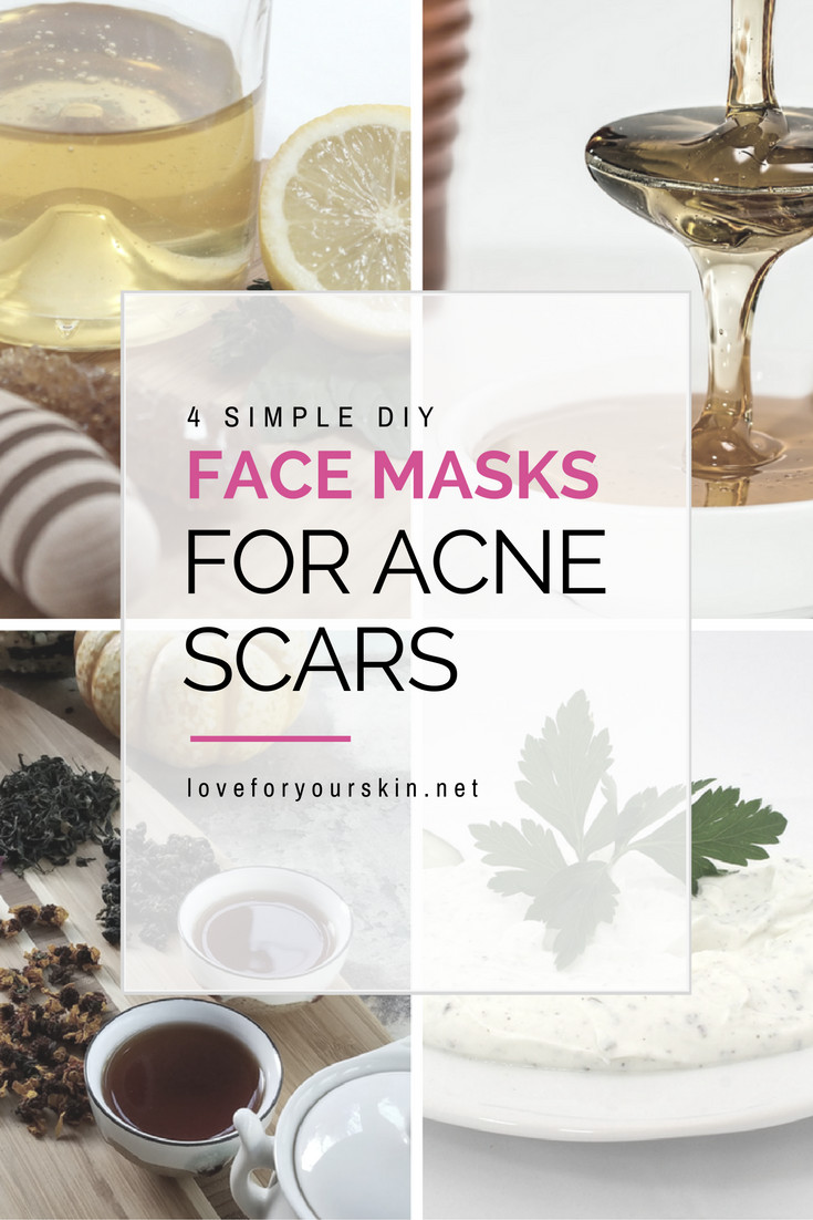 DIY Face Mask For Acne Scars  4 Simple DIY Face Masks for Acne Scars Loveforyourskin