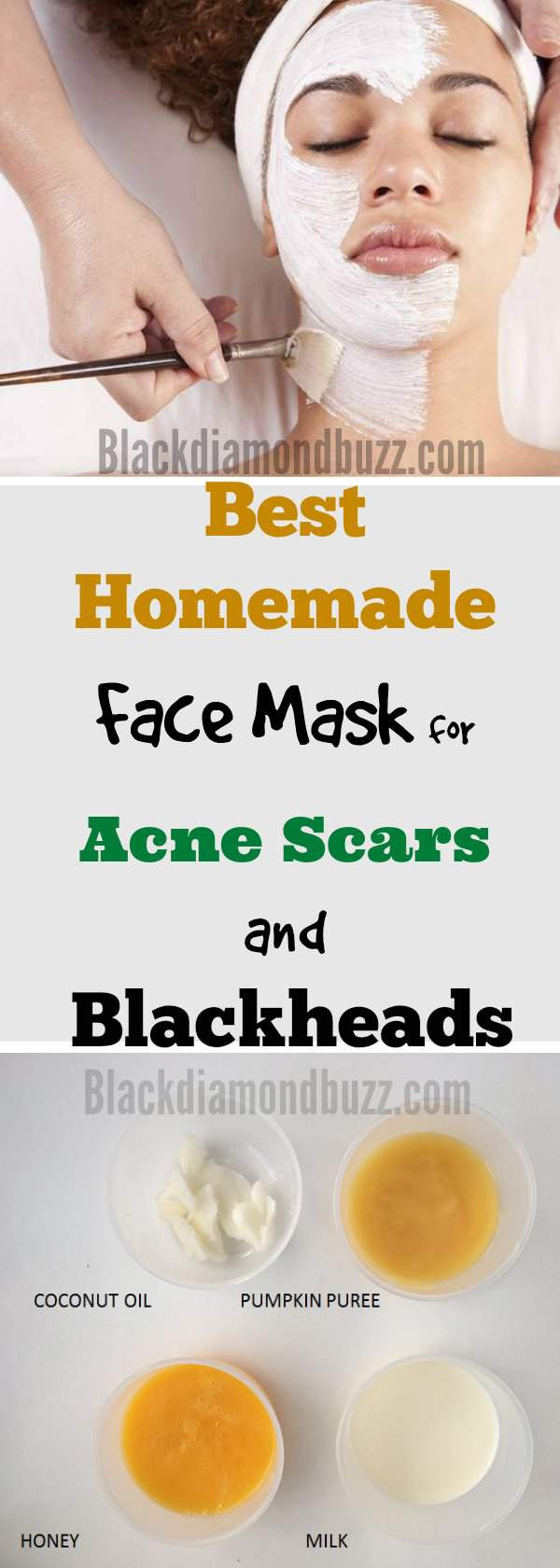 DIY Face Mask For Acne Scars  DIY Face Mask for Acne 7 Best Homemade Face Masks