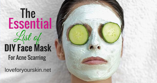 DIY Face Mask For Acne Scars  DIY Face Mask Archives – Page 2 of 2 – Loveforyourskin