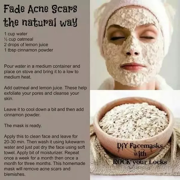 DIY Face Mask For Acne Scars  What are the best DIY face masks for acne scars Quora