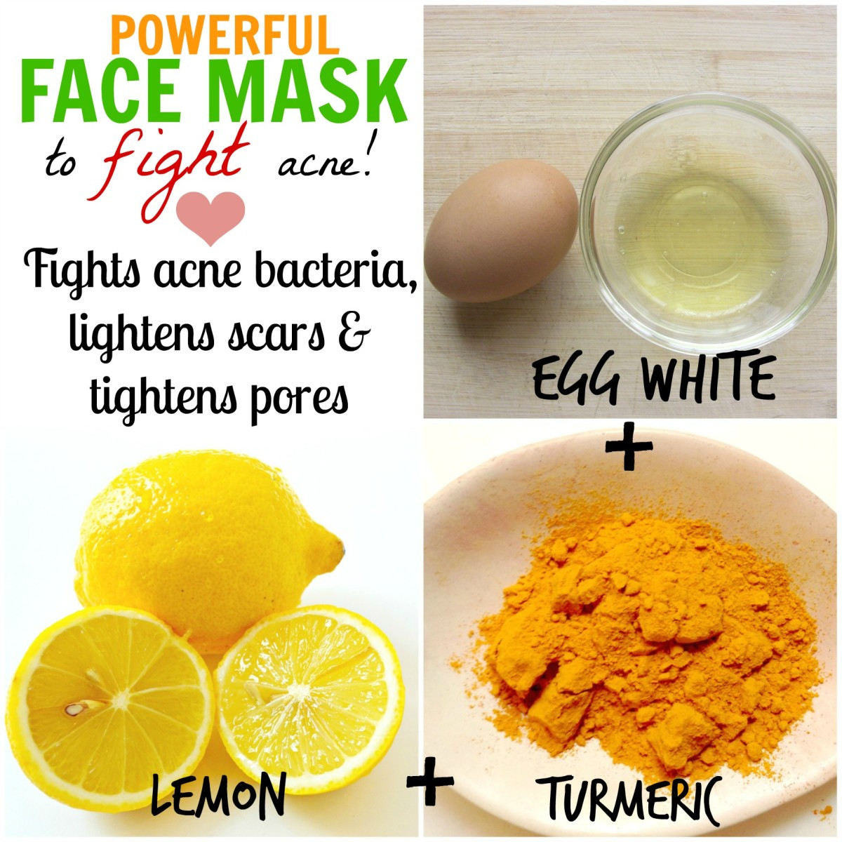 DIY Face Mask For Acne Scars  DIY Homemade Face Masks for Acne How to Stop Pimples