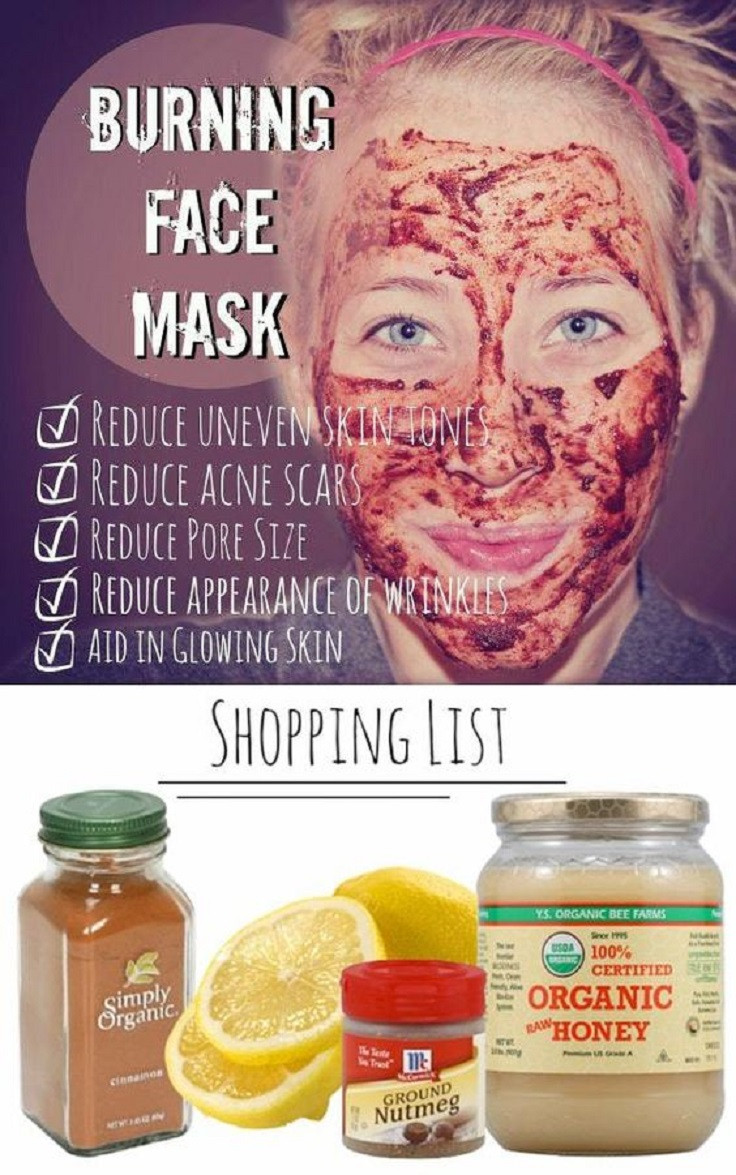 DIY Face Mask For Acne Scars  Banish Acne Scars Forever 6 Simple DIY Ways to Get Clean Skin