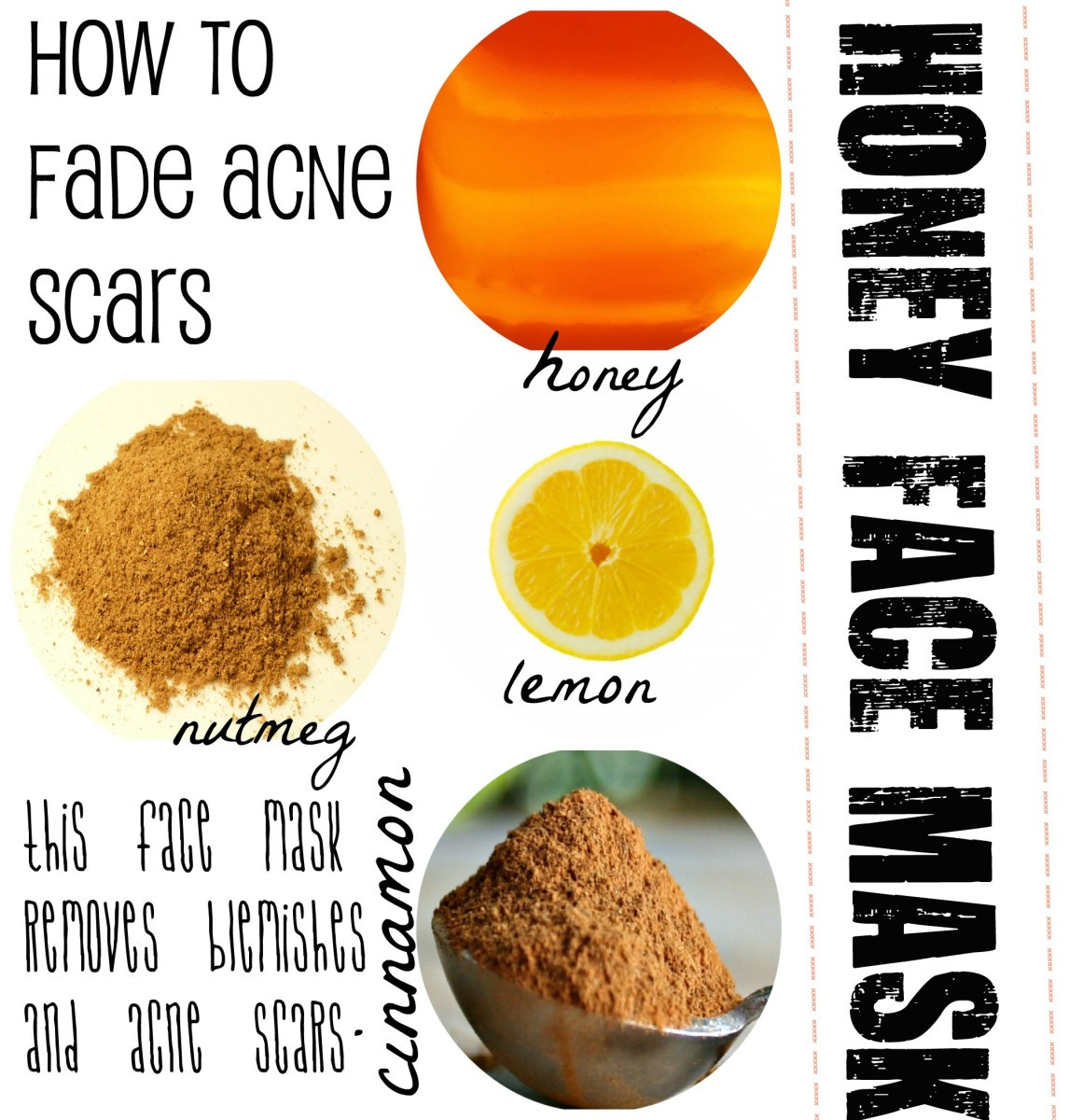 DIY Face Mask For Acne Scars  Homemade Honey Face Mask Recipes for Beautiful Skin