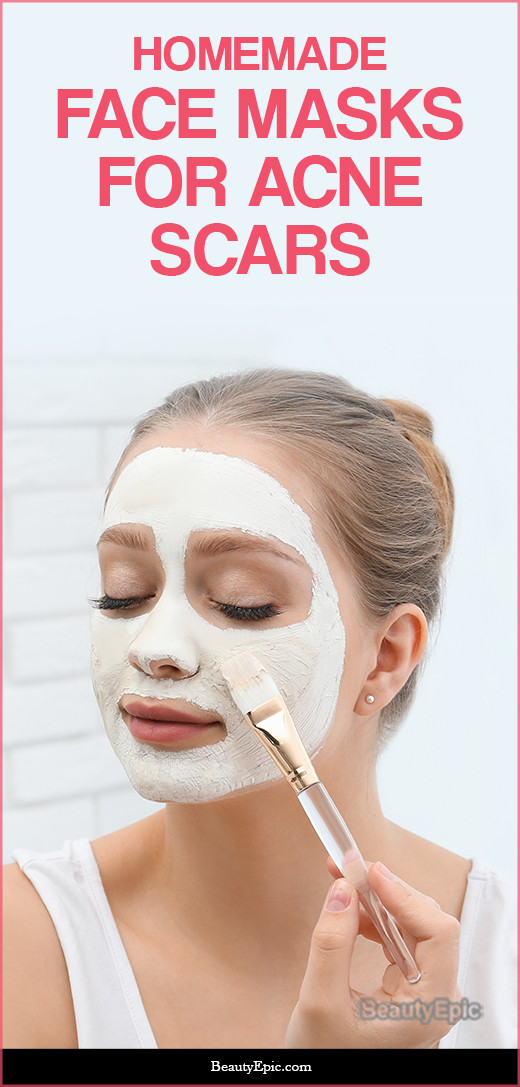 DIY Face Mask For Acne Scars  Face Masks for Acne Scars Benefits & Homemade Recipes