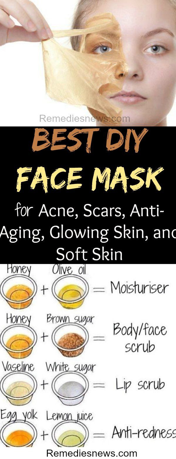 DIY Face Mask For Acne Scars  5 Best DIY Face Mask for Acne Scars Anti Aging Glowing