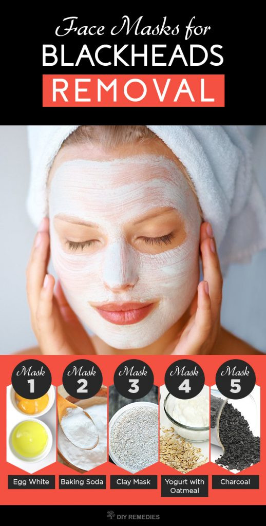 DIY Face Masks For Blackheads  5 Best Face Masks for Blackheads Removal