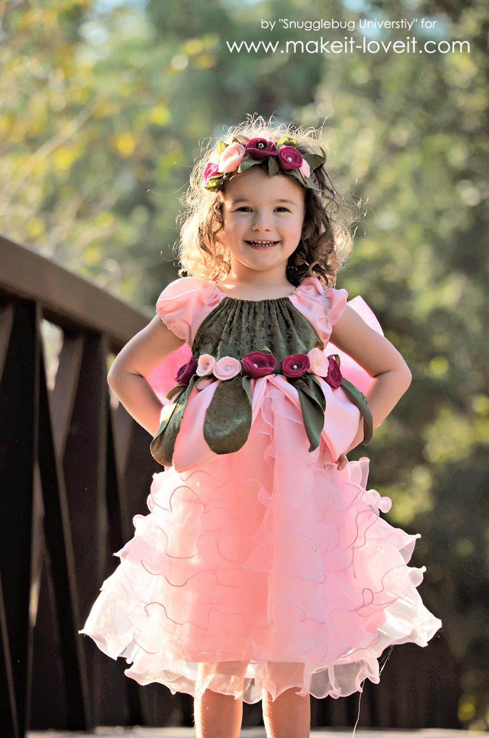 DIY Fairy Costumes For Kids  DIY Woodland Fairy Costume