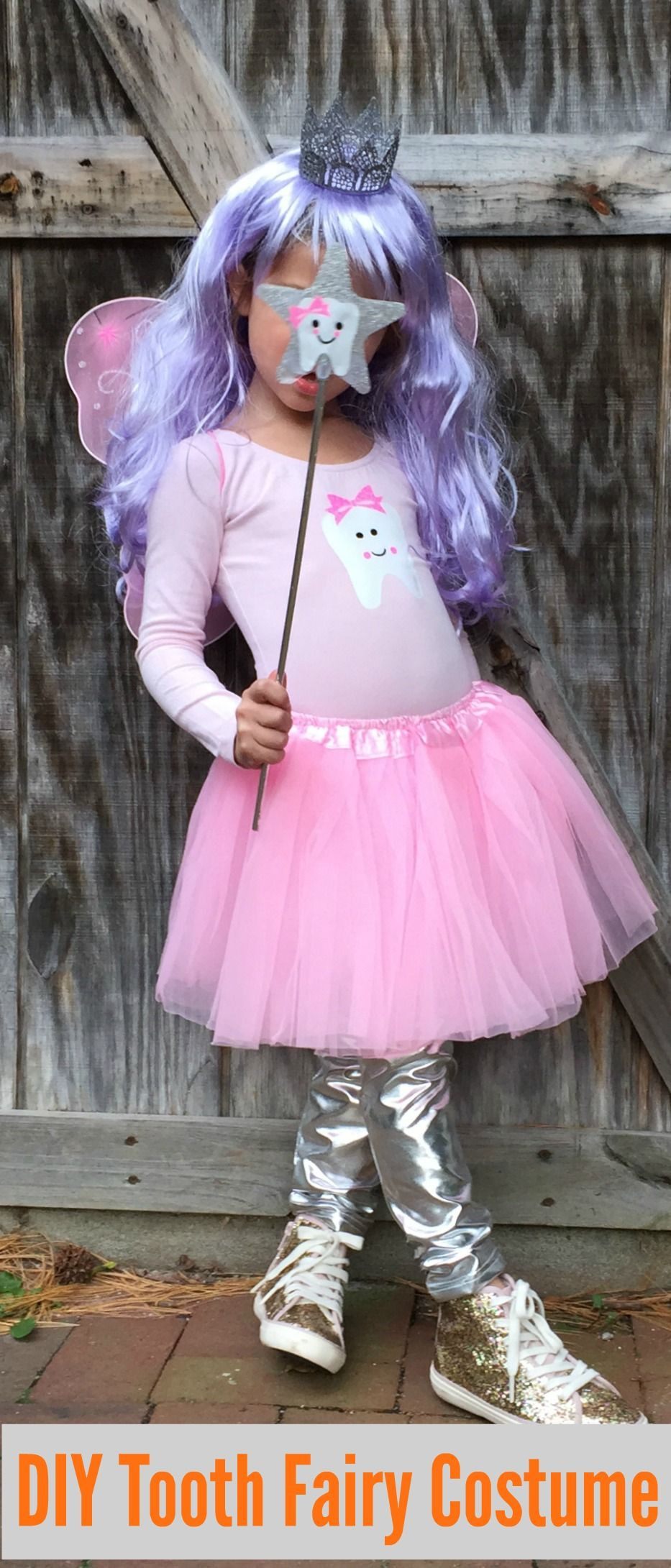 DIY Fairy Costumes For Kids  Easy DIY Halloween Costume for Kids The Tooth Fairy