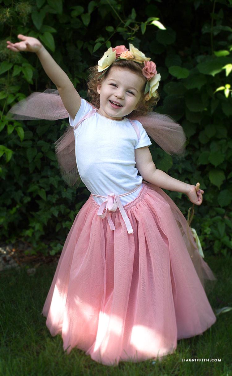 DIY Fairy Costumes For Kids  DIY Fairy Princess Costume Lia Griffith
