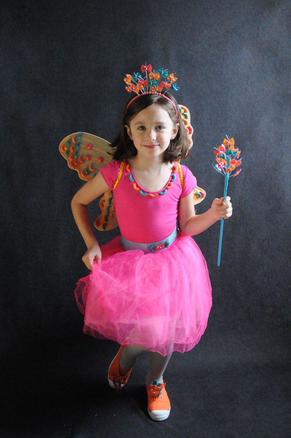 DIY Fairy Costumes For Kids  Make a Butterfly Fairy DIY Simple Halloween Costume