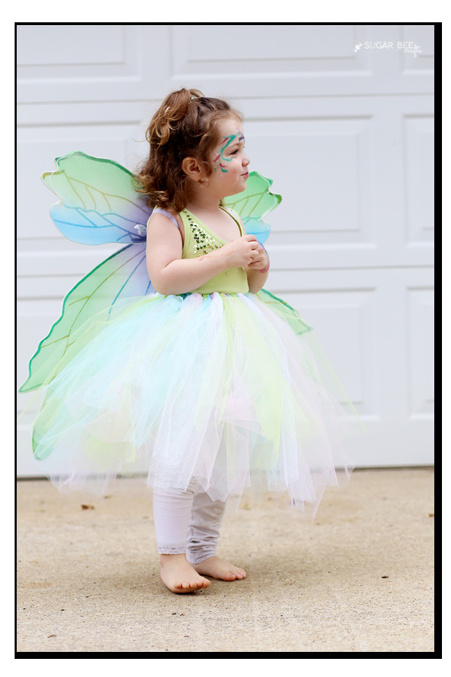 DIY Fairy Costumes For Kids  NO SEW Fairy Costume Sugar Bee Crafts