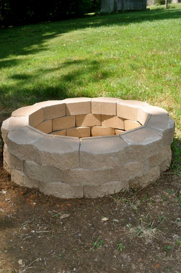 DIY Fireplace Outdoor  31 DIY Outdoor Fireplace and Firepit Ideas DIY Joy