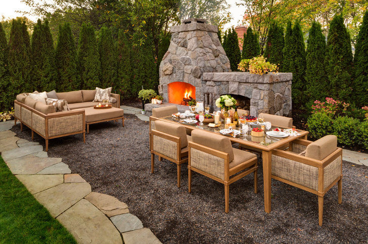 DIY Fireplace Outdoor  24 Outdoor Fireplace Designs Ideas