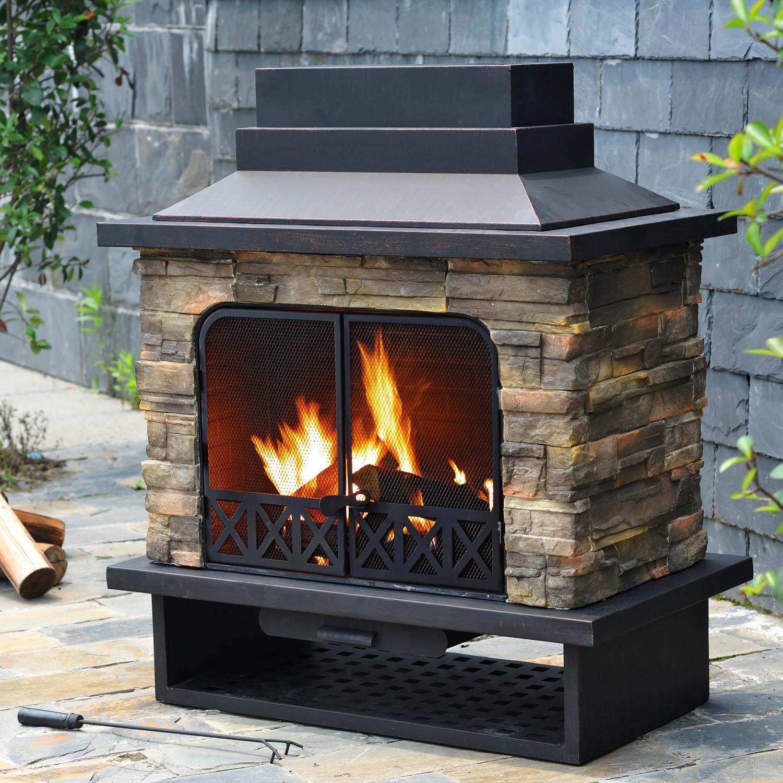 DIY Fireplace Outdoor  Fireplace DIY Prefab Outdoor Fireplace For Your Outdoor
