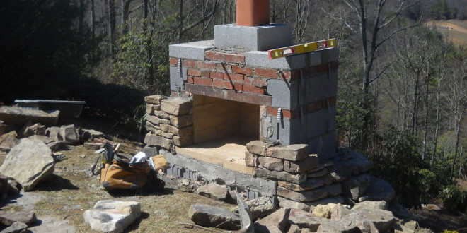 DIY Fireplace Outdoor  Outdoor – Home And Gardening Ideas