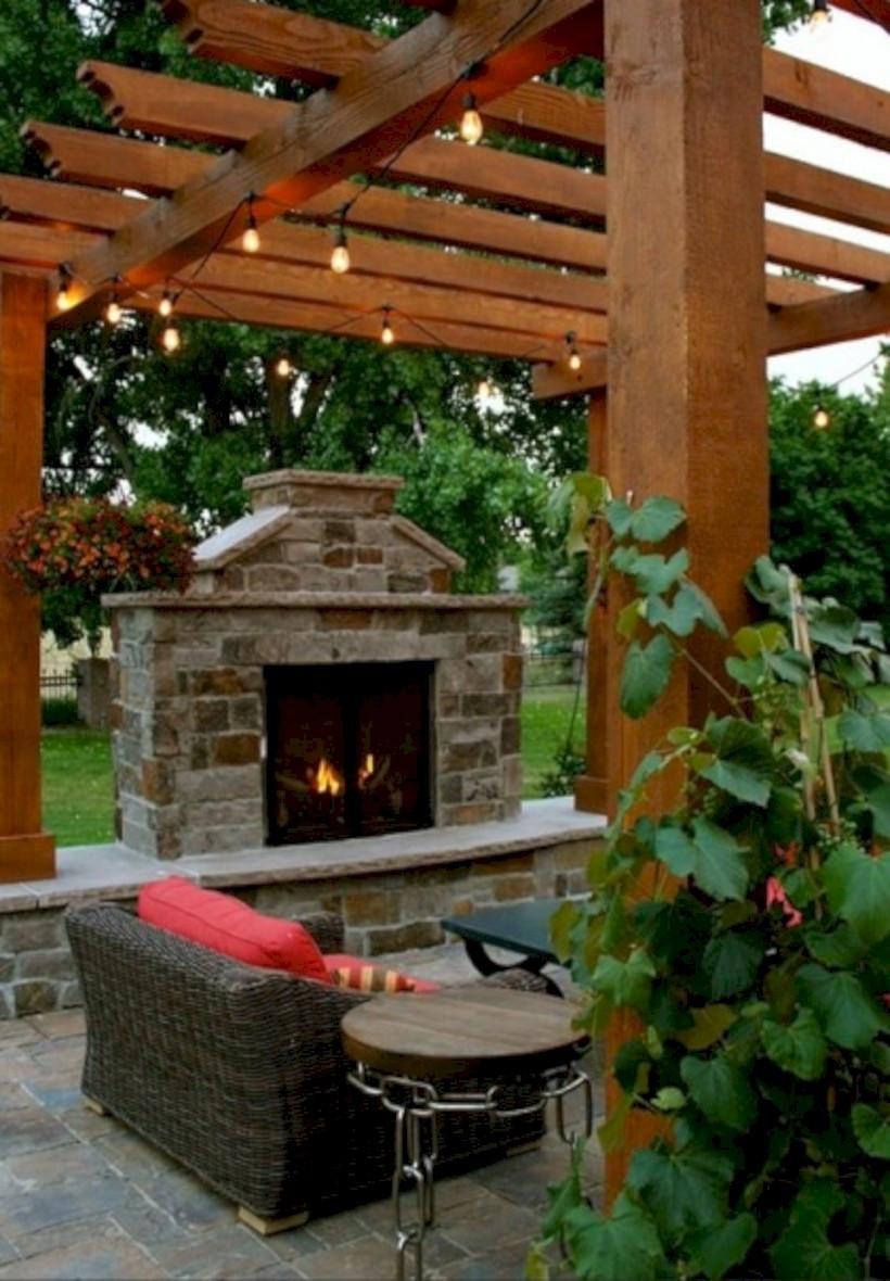 DIY Fireplace Outdoor  37 DIY Outdoor Fireplace and Fire pit Ideas GODIYGO