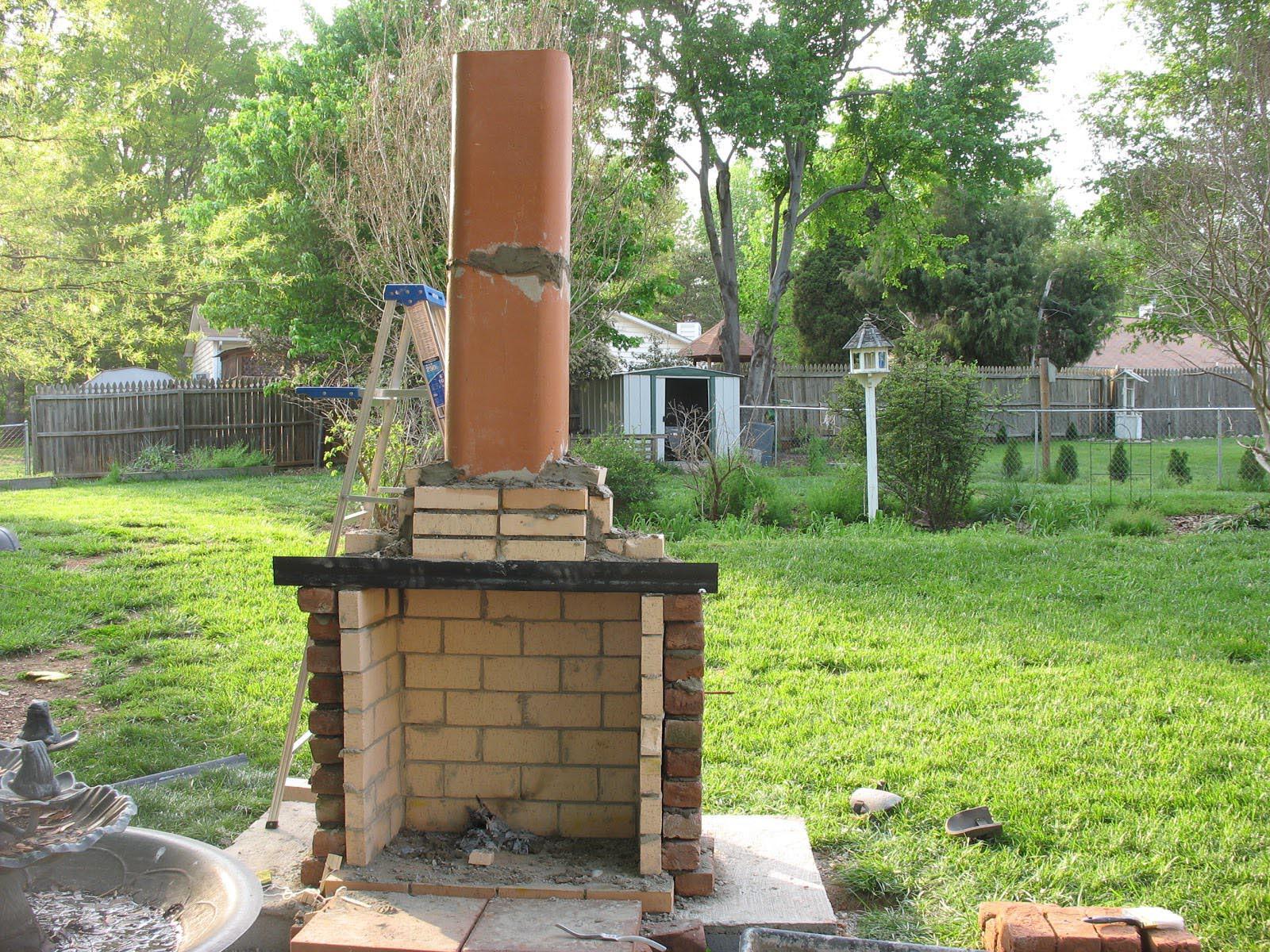 DIY Fireplace Outdoor  Diy Outdoor Fireplace is Perfect Idea