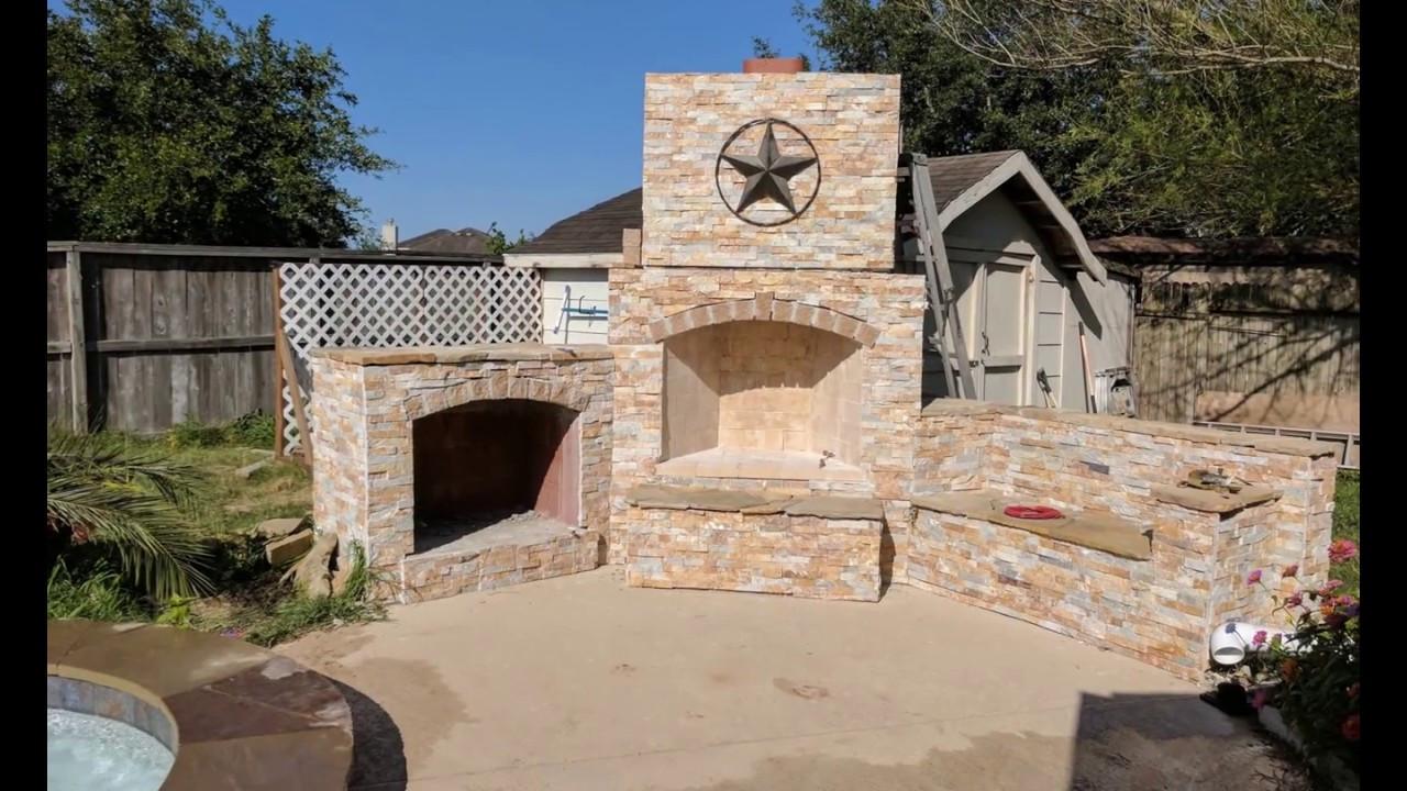 DIY Fireplace Outdoor  DIY Outdoor Fireplace