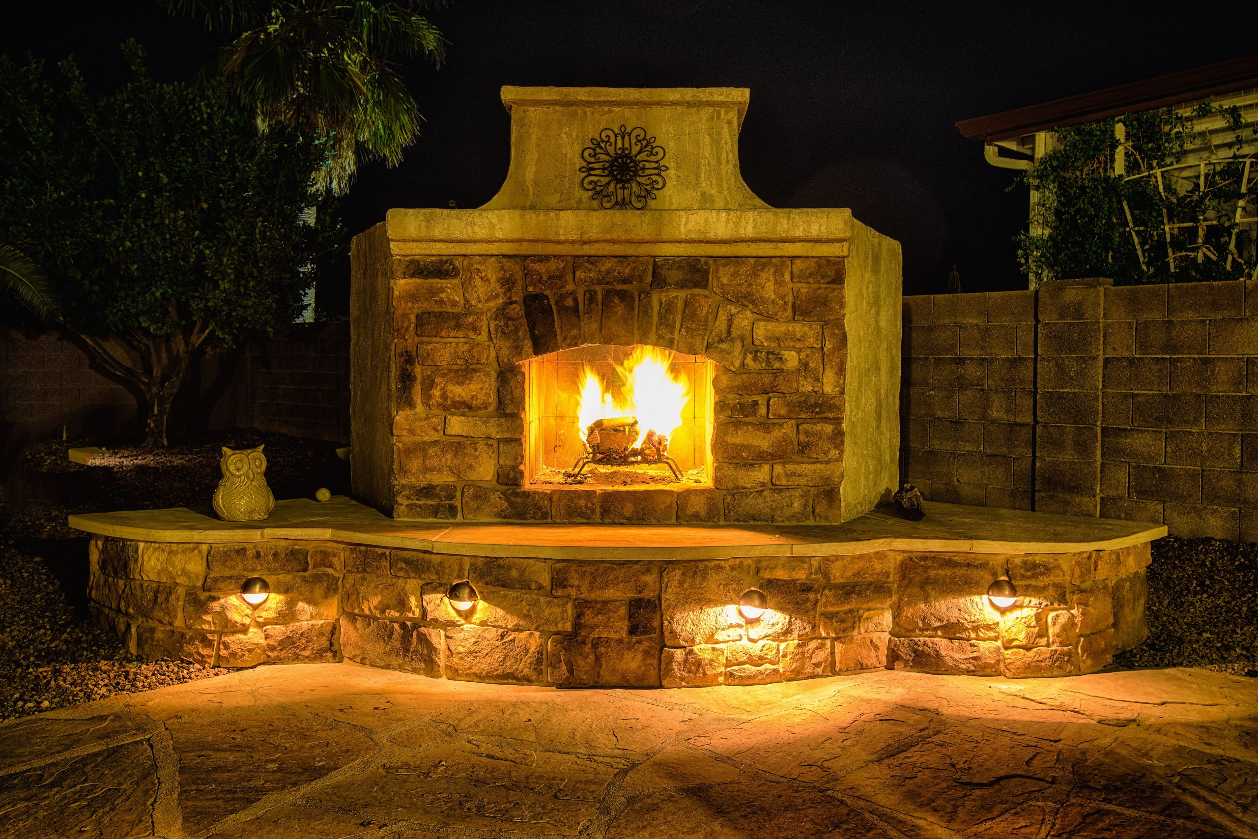 DIY Fireplace Outdoor  Outdoor Fireplace Design