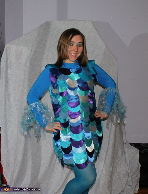 DIY Fish Costumes For Adults  26 best images about Fish costume on Pinterest
