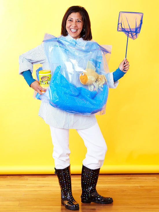 DIY Fish Costumes For Adults  Easy to Make Adult Halloween Costumes from Better Homes