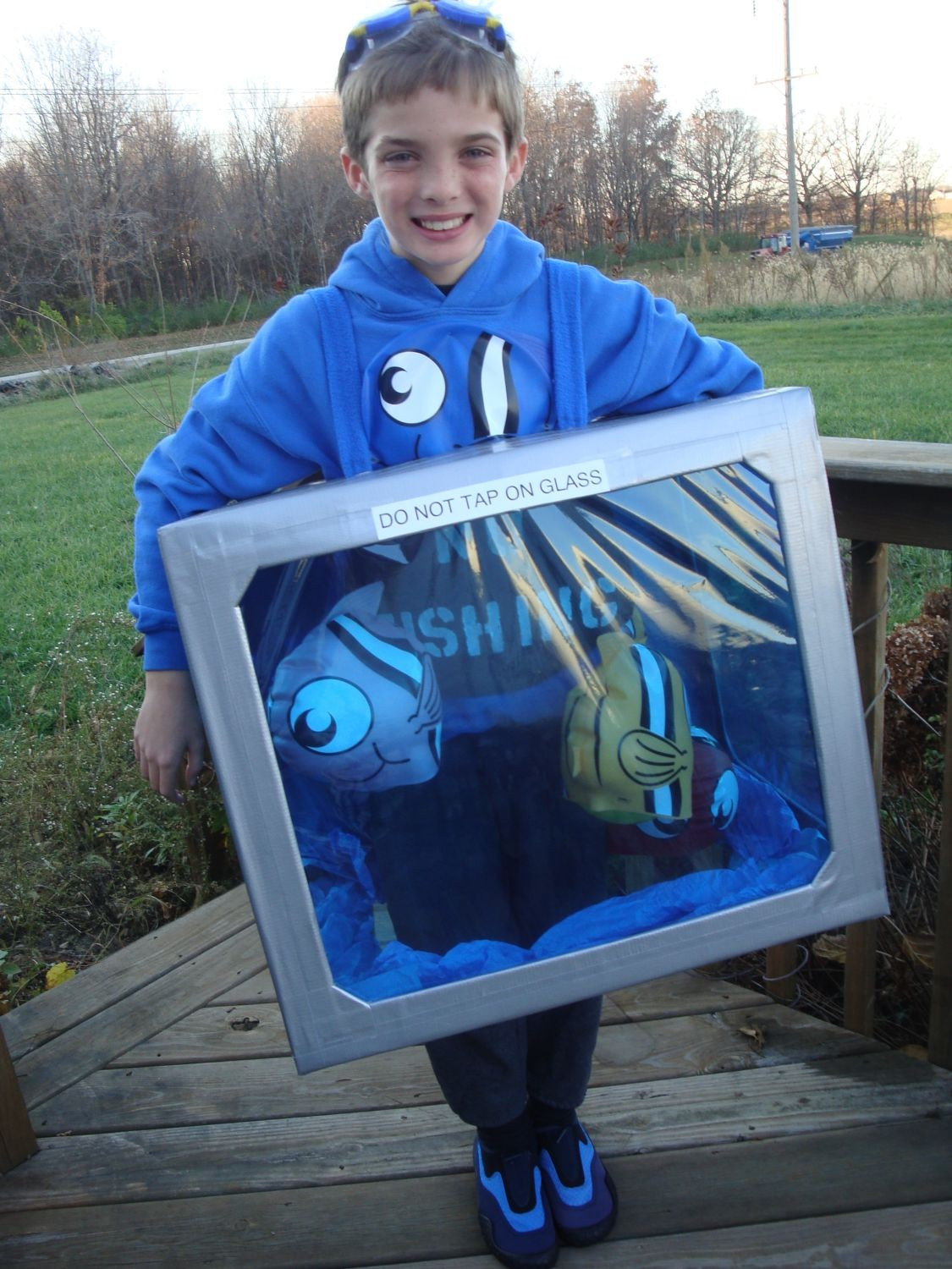 DIY Fish Costumes For Adults  Costume Crafty Homemade Halloween costume idea fish