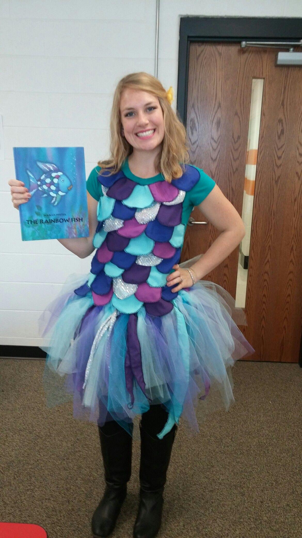 DIY Fish Costumes For Adults  Rainbow fish costume