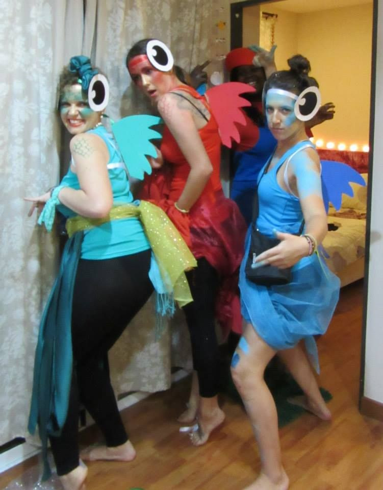 DIY Fish Costumes For Adults  fish costumes Buscar con Google